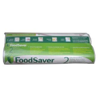 Rouleaux FoodSaver Largeur 28cm - Longueur 5,5m  pour mise sous vide FSR2802-I - Lot de 2