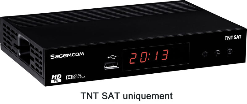 sagemcom ds 81 hd r cepteurs tnt sat hd achat vente sagem ds 81 hd. Black Bedroom Furniture Sets. Home Design Ideas