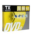 TX, produit référence : DVDTX 47 S 5-R 16 X