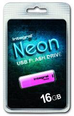INTEGRAL, produit référence : NEON ROSE 16 GB