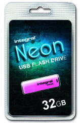 INTEGRAL, produit référence : NEON ROSE 32 GB