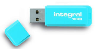 INTEGRAL, produit référence : NEON BLEU 16 GB