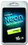 INTEGRAL, produit référence : NEON JAUNE 16 GB
