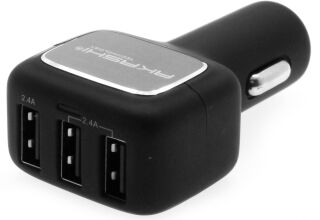 AKASHI, produit référence : ALT 3 USBCAR 48 BLK