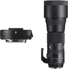 SIGMA, produit référence : 150-600 C + TC 1401 NIKON