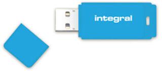 INTEGRAL, produit référence : NEON BLEU 64 GO