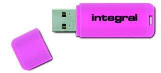 INTEGRAL, produit référence : NEON ROSE 128 GO