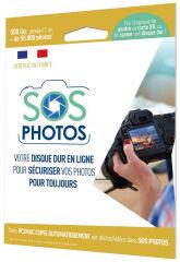 OODRIVE, produit référence : SOS PHOTOS 500 GO