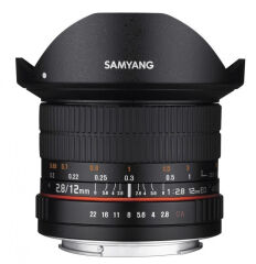 SAMYANG, produit référence : SAM 12 F 28 CANON