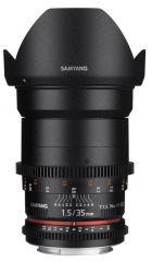 SAMYANG, produit référence : SAM 35 T 15 CANON II