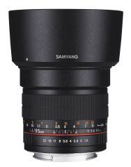 SAMYANG, produit référence : SAM 85 CANON