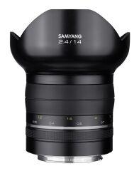 SAMYANG, produit référence : SAMXP 14 F 24 CANON