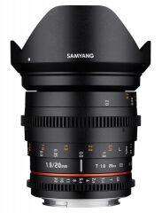SAMYANG, produit référence : SAM 20 T 19 SONY E