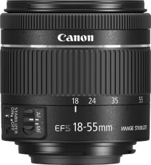 CANON, produit référence : EF-S 18-55 F/4-5.6 IS STM