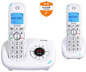 ALCATEL, produit référence : XL 585 VOICE DUO BLANC