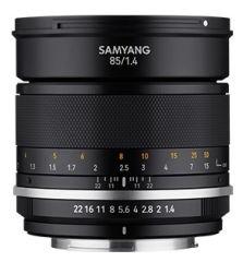 SAMYANG, produit référence : MF 85/1.4 MK 2 FUJIFILM X