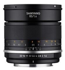 SAMYANG, produit référence : MF 85/1.4 MK 2 CANON EF